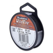 Beadalon filo Wildfire diametro 0,20 mm nero