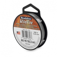 Beadalon filo Wildfire diametro 0,20 mm grigio