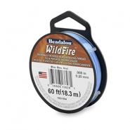 Beadalon filo Wildfire diametro 0,20 mm blu