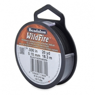 Beadalon filo Wildfire diametro 0,15 mm nero