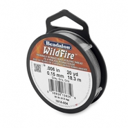 Beadalon filo Wildfire diametro 0,15 mm grigio