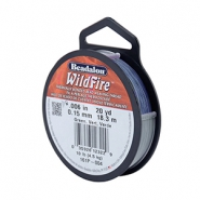 Beadalon filo Wildfire diametro 0,15 mm blu