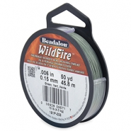 Beadalon filo Wildfire diametro 0,15 mm verde