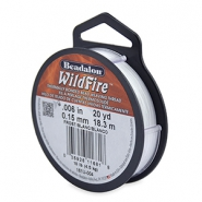 Beadalon filo Wildfire diametro 0,15 mm bianco gelo