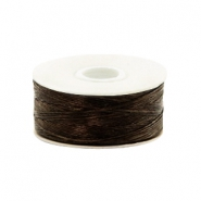 Beadalon filo Nymo diametro 0,3 mm marrone