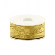 Beadalon filo Nymo diametro 0,3 mm oro