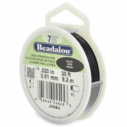 Beadalon filo infilaperle 7 fili diametro 0,51 mm nero