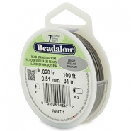 Beadalon filo infilaperle 7 fili diametro 0,51 mm acciaio inossidabile brillante