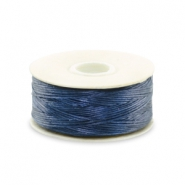 Beadalon filo Nymo diametro 0,3 mm blu scuro