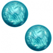 Cabochon Polaris Elements 7 mm classico Lively verde di Persia