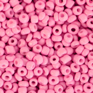 Perline di vetro rocailles 8/0 (3mm) rosa punch